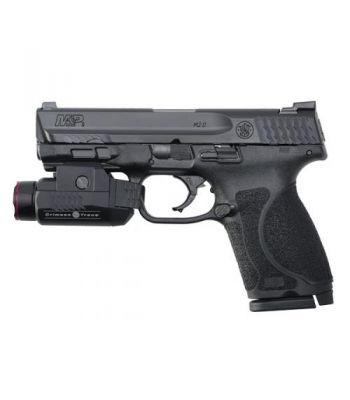 Smith and Wesson M&P M2.0 9mm Compact NTS with Crimson Trace Light SPU - 12411