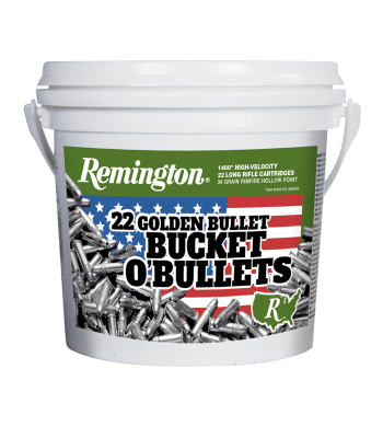 Remington Golden Bullet 22 Long Rifle 36 Gr Hollow Point Bulk Approx. 1400 Rds - 1622B