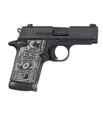Sig Sauer P938 Extreme 9mm 3 Inch Barrel Siglite Night Sights Black Nitron Slide
