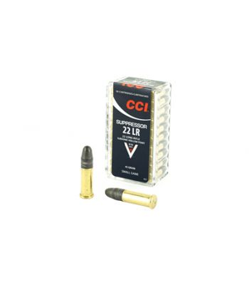 CCI SUPPRESSOR 22LR 45 HP 50