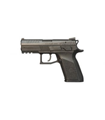 CZ P-07 Compact 9mm Luger 3.8 Inch Barrel Black Finish Fixed Sights Polymer Fra