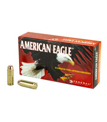 Federal American Eagle 10mm Auto 180 Grain Full Metal Jacket