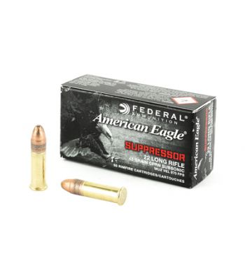 American Eagle .22 LR Suppressor 45 Gr. Subsonic