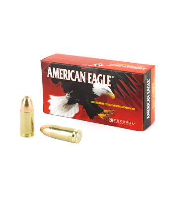 Federal American Eagle 9mm Luger 124 Grain Full Metal Jacket