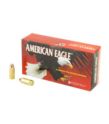 Federal American Eagle 9mm 115 Grain Full Metal Jacket