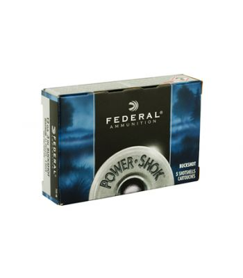 Federal Power-Shok Ammunition 12 Gauge 3