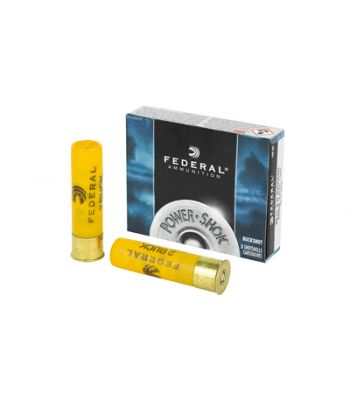 Federal Power-Shok Ammunition 20 Gauge 3