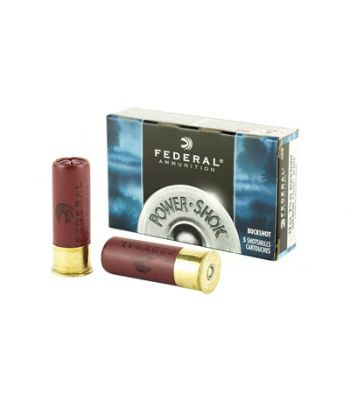Federal Power-Shok Low Recoil Ammunition 12 Gauge 2-3/4