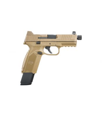FN 509 Tactical FDE 9MM Suppressor Night Sights 2-24 Rd and 1-17 Rd Magazines - 66-100373