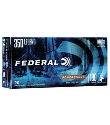 Federal Power-Shok Ammunition 350 Legend 180 Grain Soft Point - 350LA