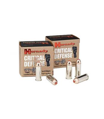 Hornady Critical Defense .44 Special 165 Gr FTX 20 Rounds