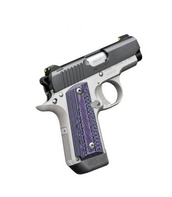 Kimber Micro Carry Advocate® with purple/black grips .380