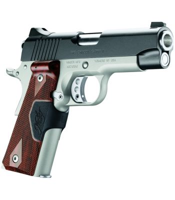 Kimber Pro Crimson Carry II .45 ACP with Green Laser Grips
