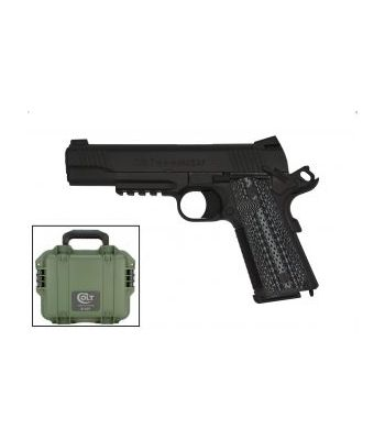 Colt Custom Shop CQB Pistol 45 ACP Semi-Auto Pistol 5.0? Barrel Black - O1070CQB-B