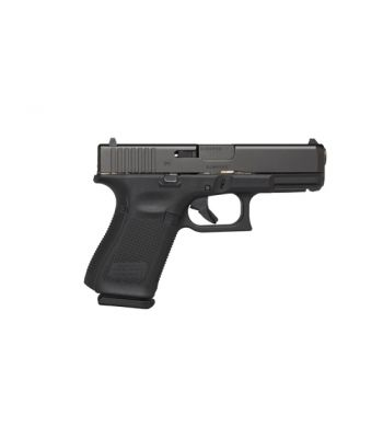 Glock 19 Gen5 9mm 4.02 Inch Barrel Black Armor Coating AmeriGlo Bold Sights Roug - PA1950303AB