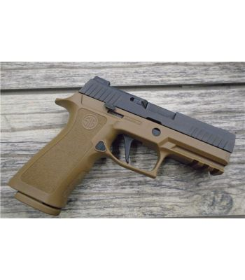 Sig Sauer P320 X-Carry 9mm Coyote Frame Black Slide