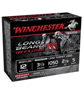Winchester Long Beard XR Turkey Ammunition 12 Gauge 3.5
