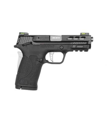 Smith & Wesson M&P .380 Shield EZ Performance Center Ported Silver Barrel 8 Rd - 12718