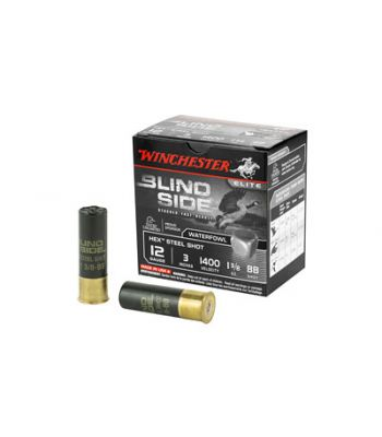 Winchester Blind Side Ammunition 12 Gauge Non-Toxic Steel Shot 3