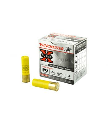 Winchester Super-X High Brass Ammunition 20 Gauge 2-3/4