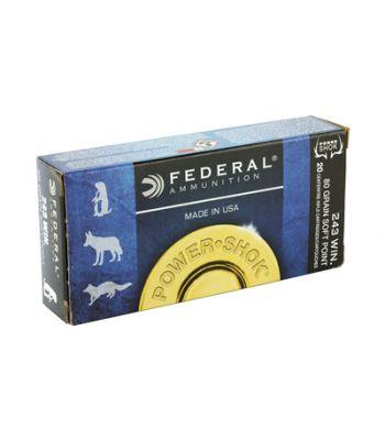 Federal .243 80 gr.