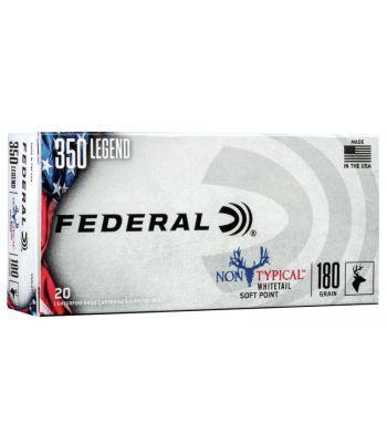 Federal Power-Shok Ammunition 350 Legend 180 Grain Soft Point - 350LDT1