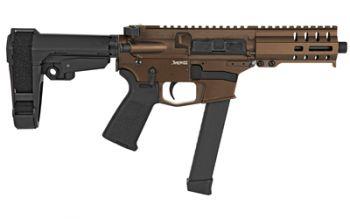 CMMG Banshee 300 Pistol MkGs 9mm (Glock) Midnight Bronze