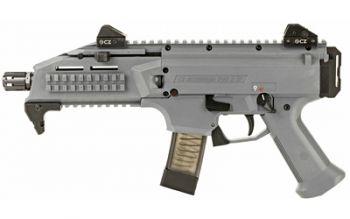 CZ Scorpion EVO3 S1 9mm Pistol Grey 7.75 Inch Barrel 20 Round
