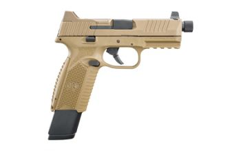 FN 509 Tactical FDE 9MM Suppressor Night Sights 1-24 Rd and 1-17 Rd Magazines - 66-100373