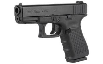 Glock 23 Gen 4 .40 Smith & Wesson 4 Inch Barrel Tenifer Finish Fixed Sights 13 R
