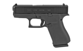 Glock G43X 9mm 10 Rd Black