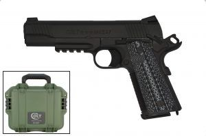 Colt Custom Shop CQB Pistol 45 ACP Semi-Auto Pistol 5.0? Barrel Black - O1070CQB-B