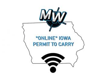 Iowa Permit to Carry - ONLINE