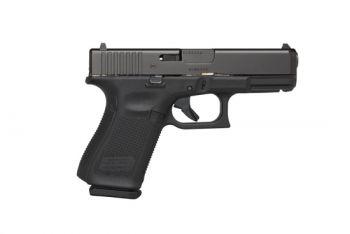 Glock 19 Gen5 9mm 4.02 Inch Barrel Black Armor Coating AmeriGlo Bold Sights Roug - PA1950303AB