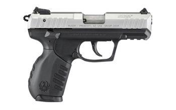 Ruger SR22 .22 Long Rifle 3.5 Inch Stainless Steel Barrel Silver Aluminum Slide