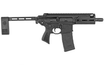 Sig Sauer MCX Rattler .300 BLK Pistol Semi Auto 5.5in bbl Mlok 1-30rd mag - PMCX-300B-5B-TAP