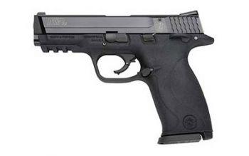 Smith & Wesson M&P22 .22 Long Rifle 4.1 Inch Threaded Barrel Blue Finish Adjusta