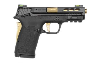 Smith & Wesson M&P .380 Shield EZ Performance Center Ported Gold Barrel 8 Rd - 12719